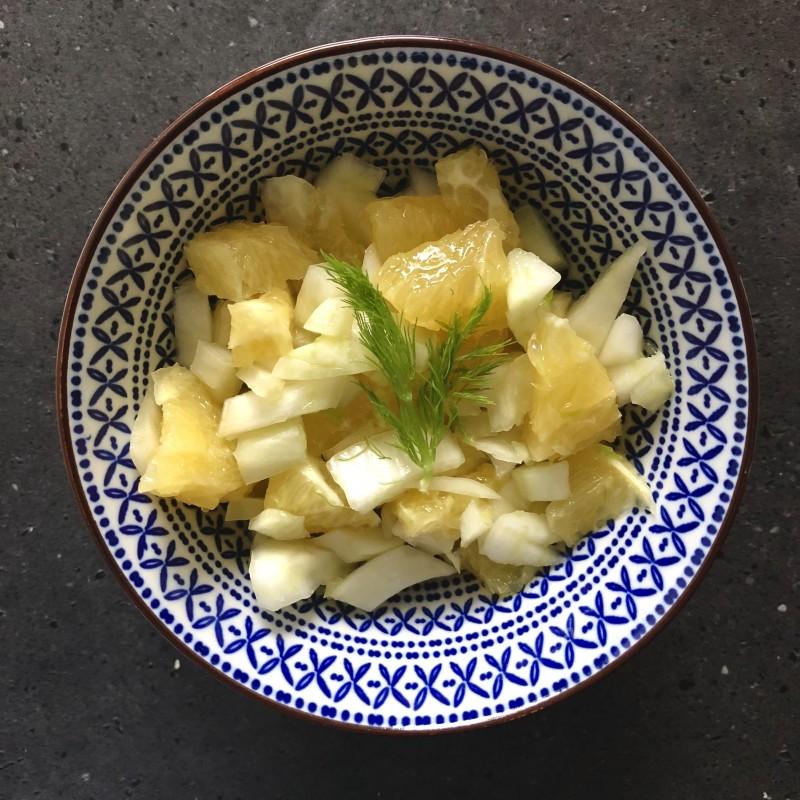 Fenchel-Orangen Salat