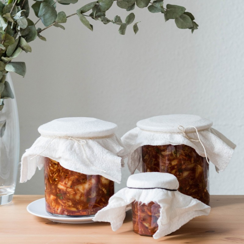 Scharfes koreanisches Kimchi