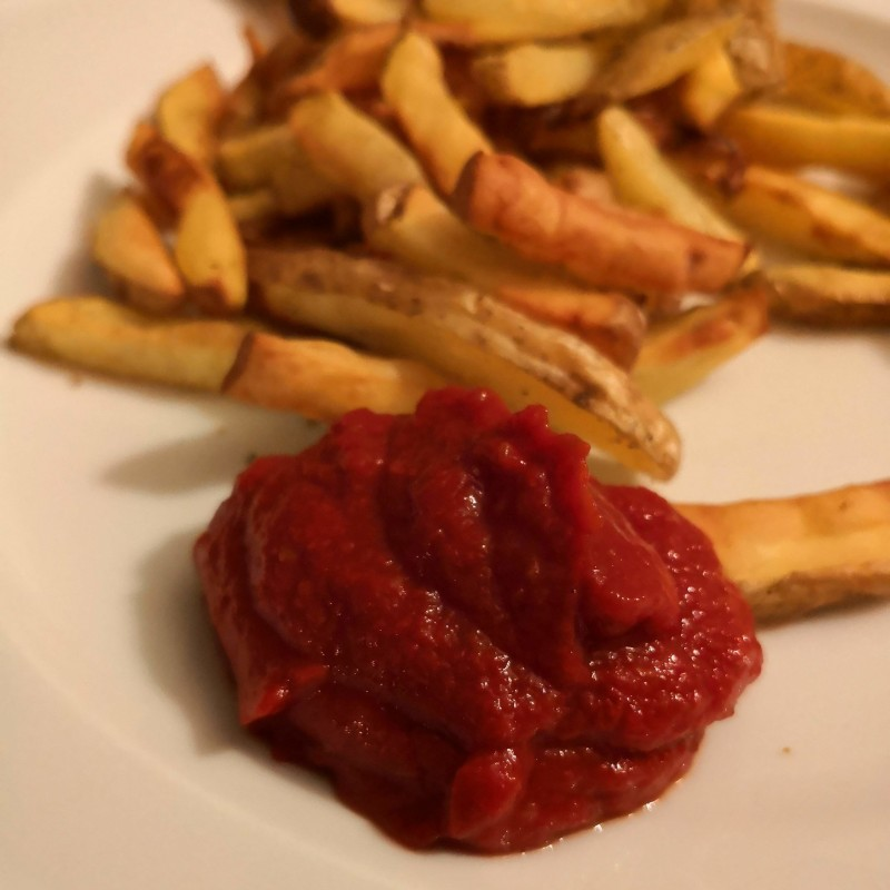 Ketchup, schmeckt wie das Original