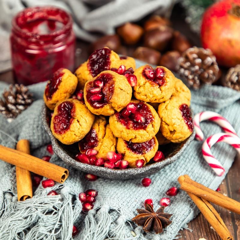Erdnussbutter Marmelade Plätzchen