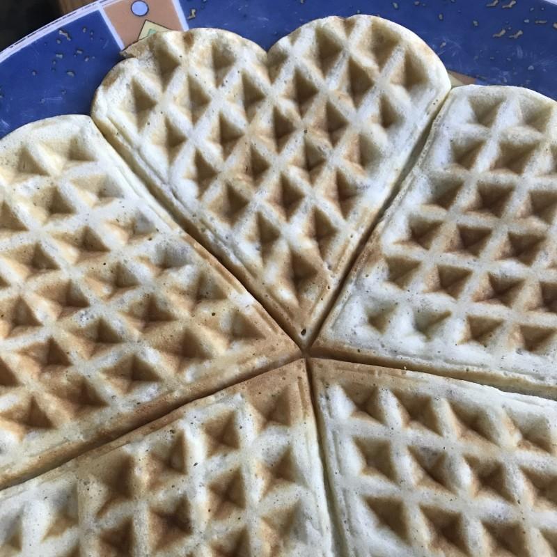 Frühstücks-Waffeln