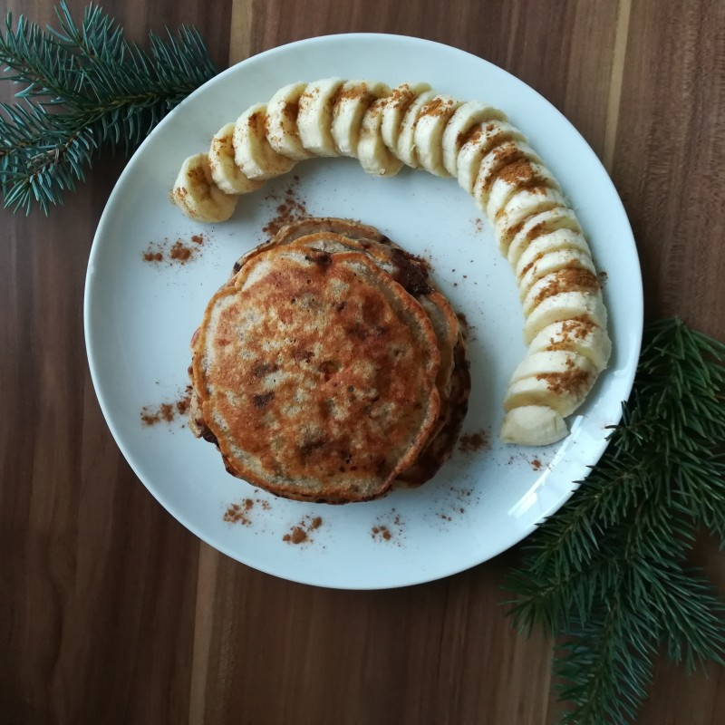 Fluffige Schoko-Pancakes
