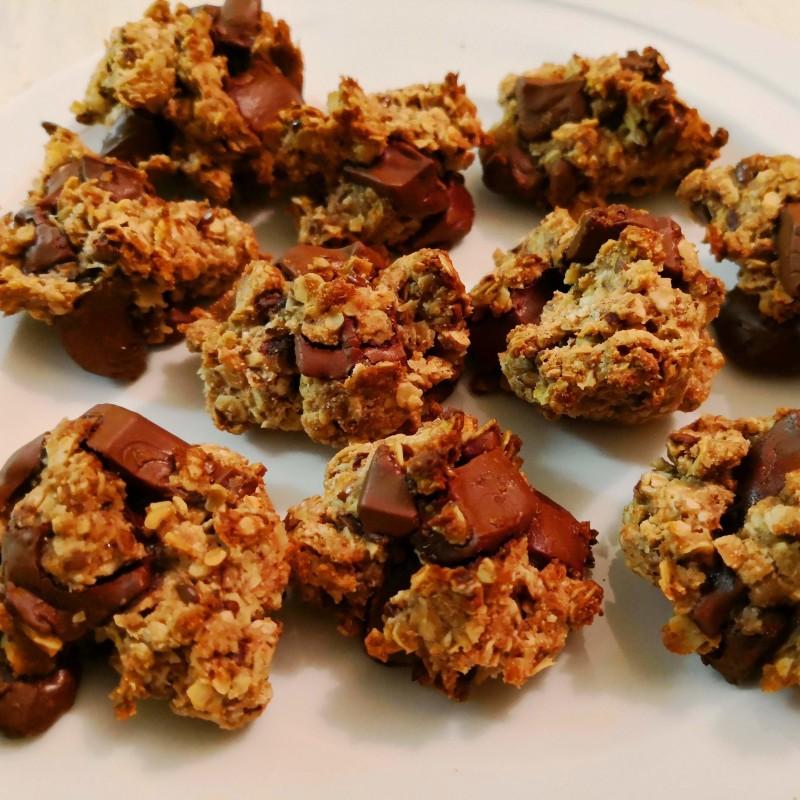 Haferflocken-Schokoladen Kekse