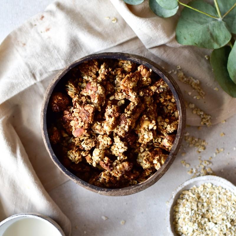 Granola Rezept aus dem Ofen