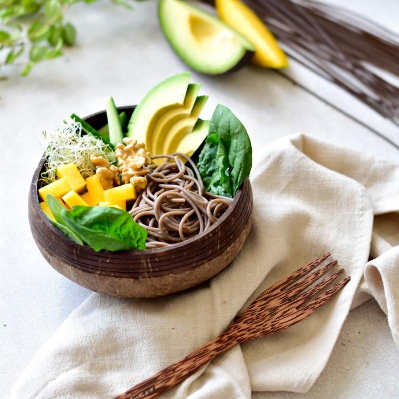 Buchweizen-Mango-Avocado Bowl