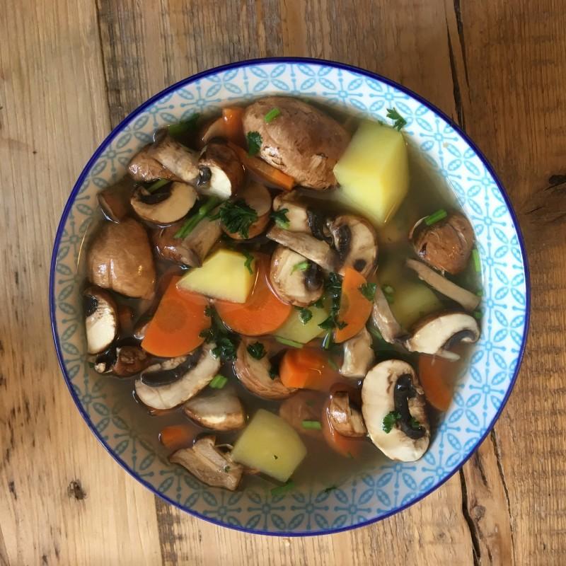 Gemüsesuppe leicht gemacht