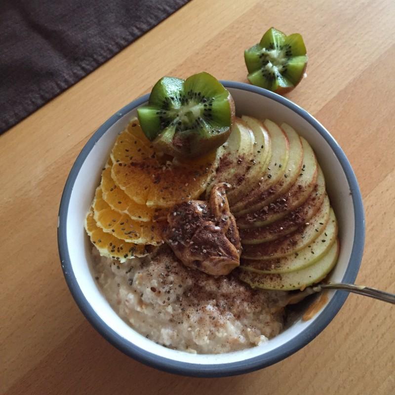Wohlfühl-Porridge