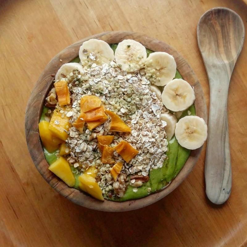 Grünes Frühstücksglück