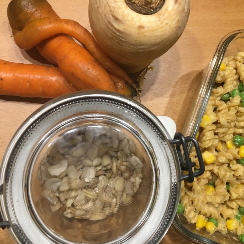 Karotten-Pastinaken-Cashew-Creme