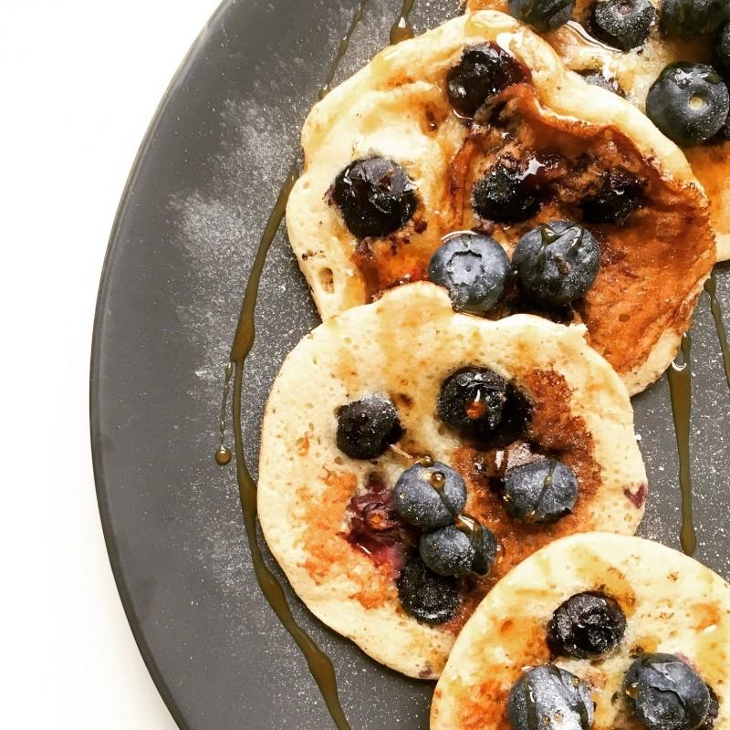 Fluffige Pancakes mit Aquafaba