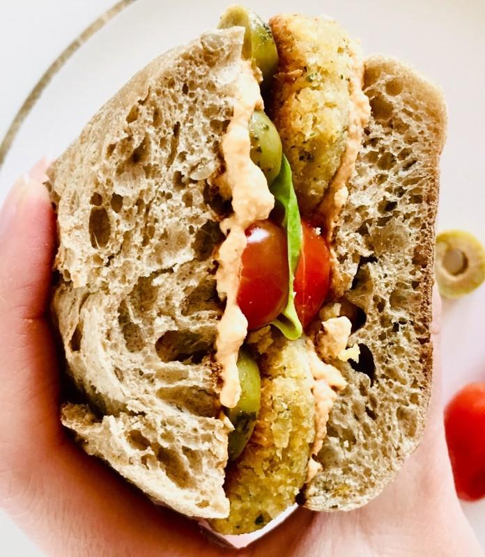 Falaffel Sandwich