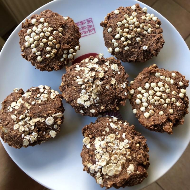 Gesunde Hafer Zimt Muffins