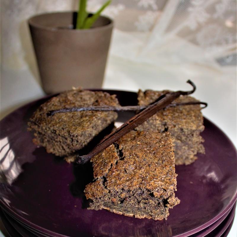 Mohnkuchen mit Vanille