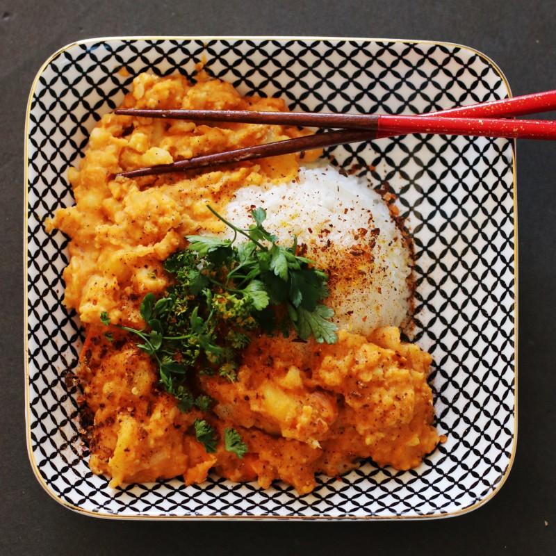 Blumenkohl Linsen Curry