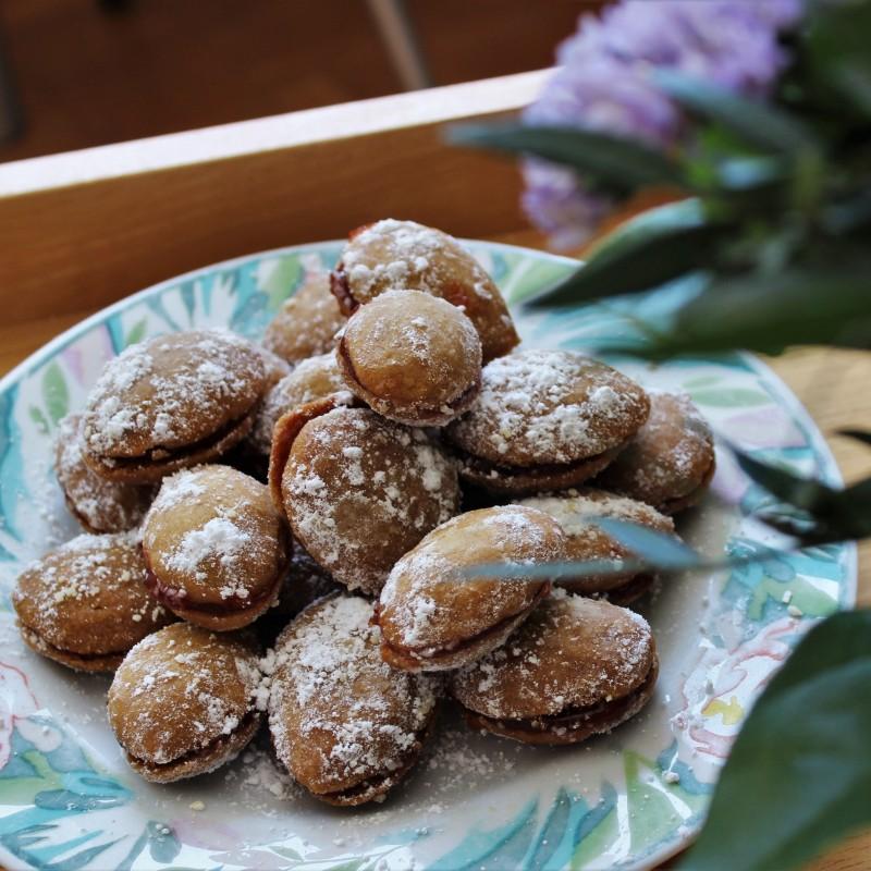 Doppel-Löffel-Kekse