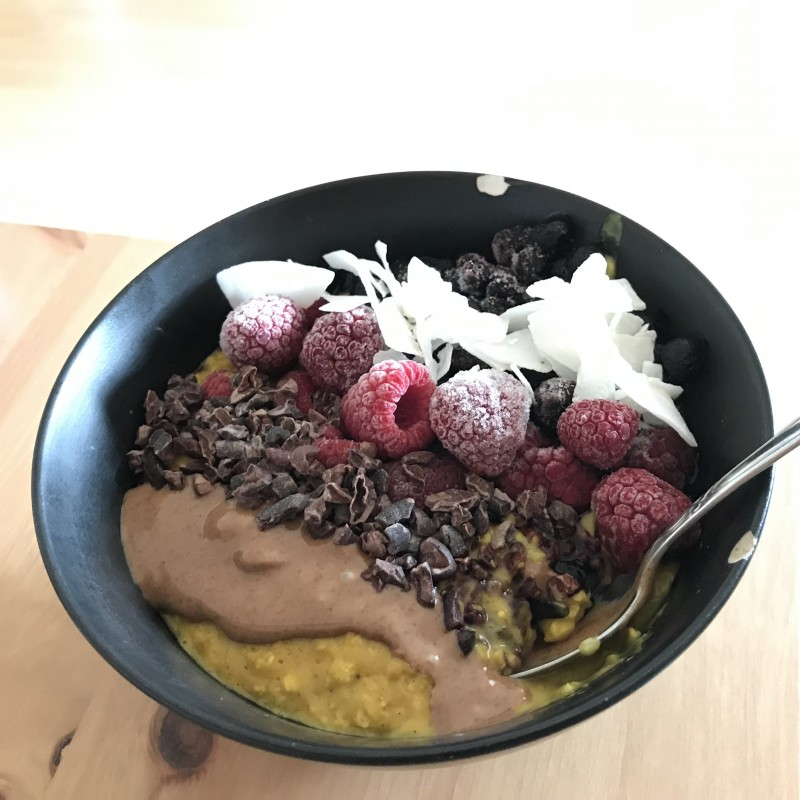 Kurkuma Porridge