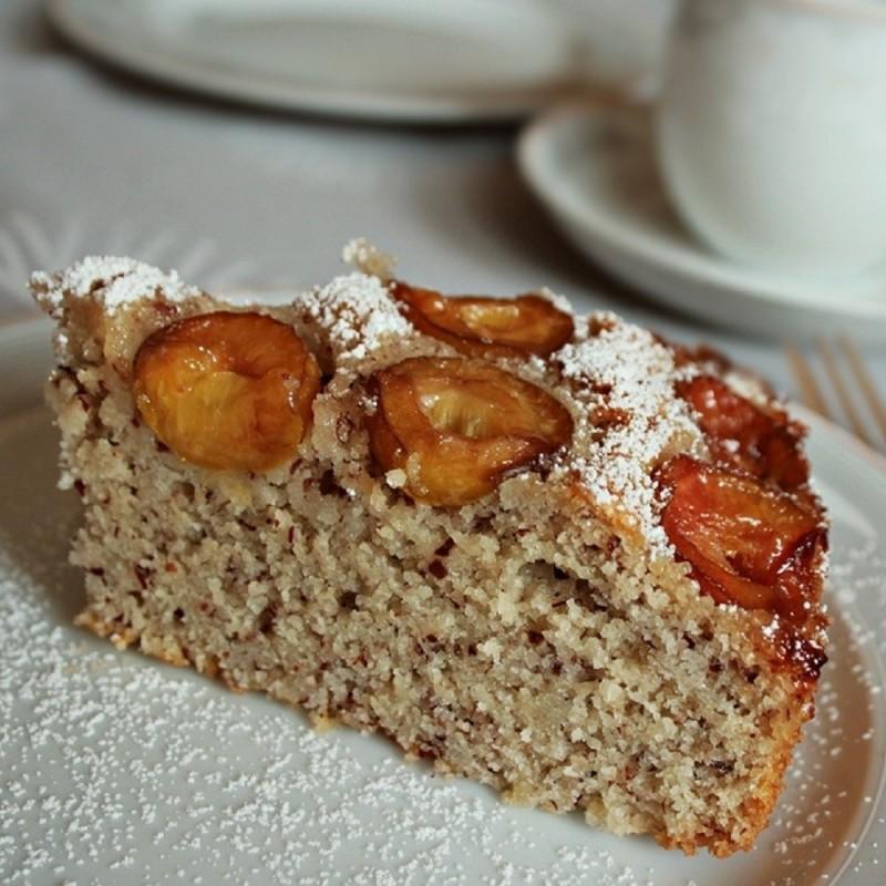 Mirabellen-Nuss Kuchen