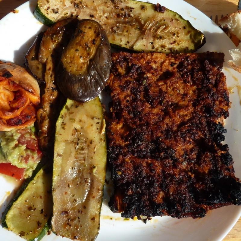 Soja Steaks gebraten oder gegrillt
