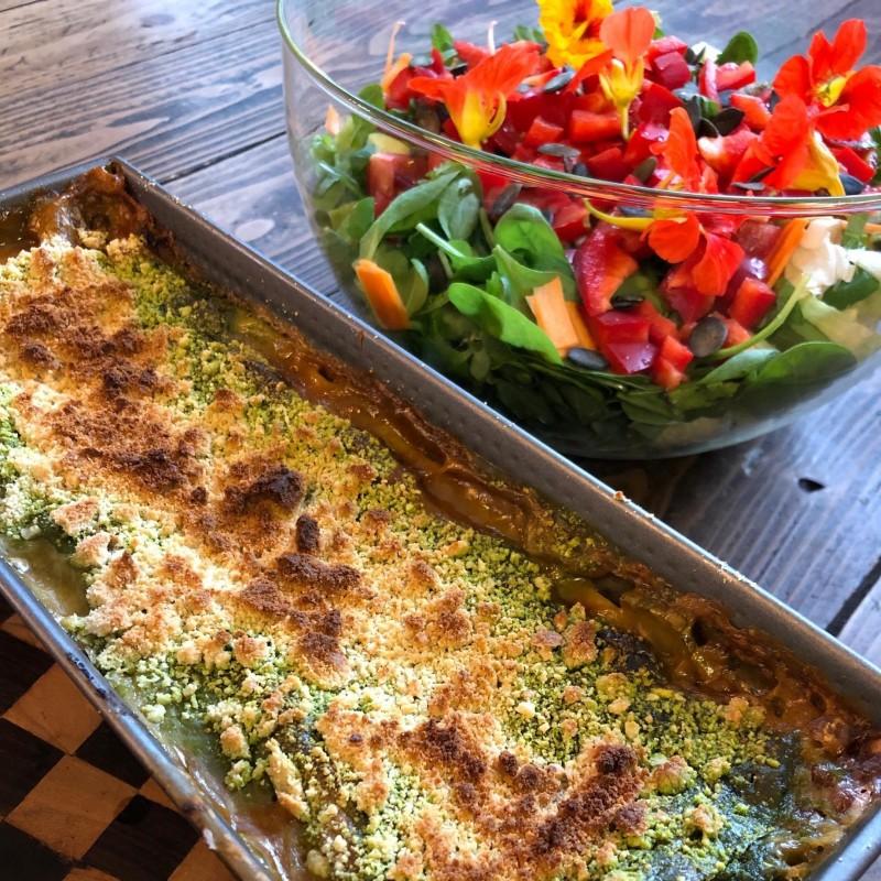 Leo's vegan-glutenfreie Lasagne