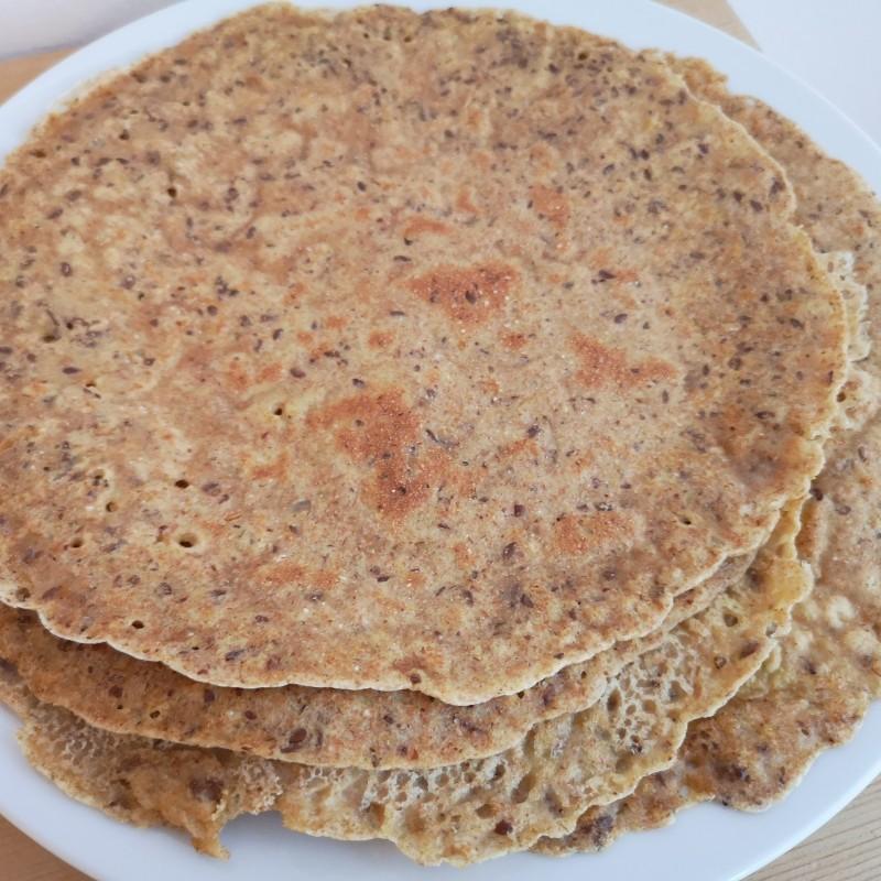 Omelette / Pfannkuchen 4 Zutaten