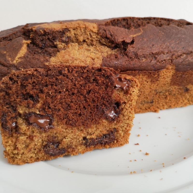 Einfacher Marmorkuchen - Vollkorn