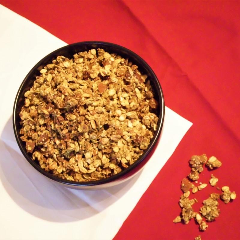 Goldenes Granola
