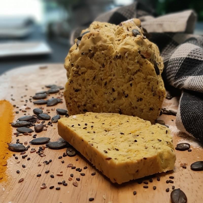 Goldbarren Kurkuma Brot