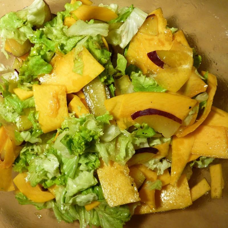 Rohkost Kürbis Salat