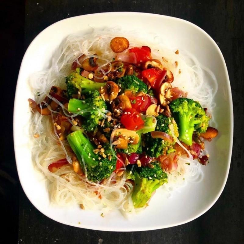 Vegan Glass Noodle Dish