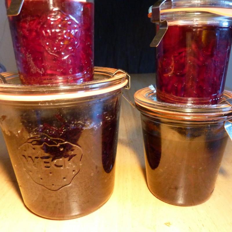 Rote Bete/Gemüse fermentieren