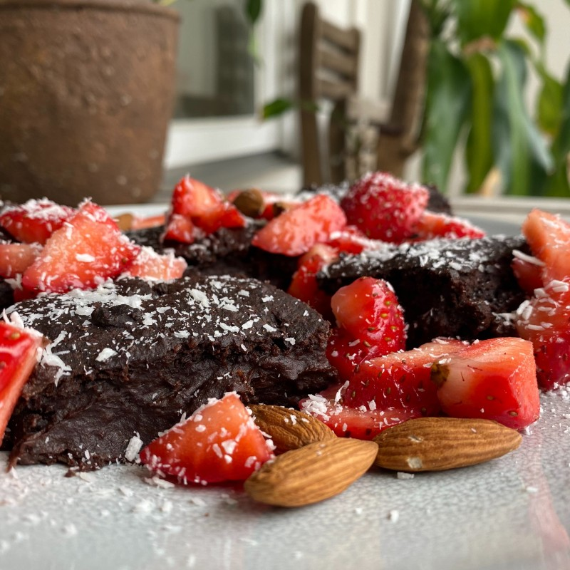 Protein-Brownies