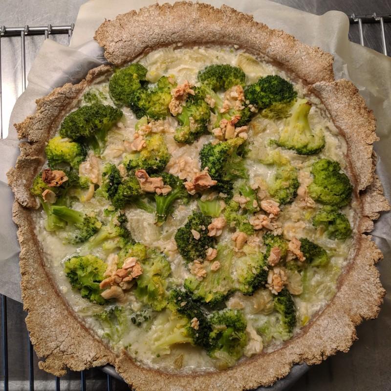 Broccoli Wähe / Broccoli Quiche