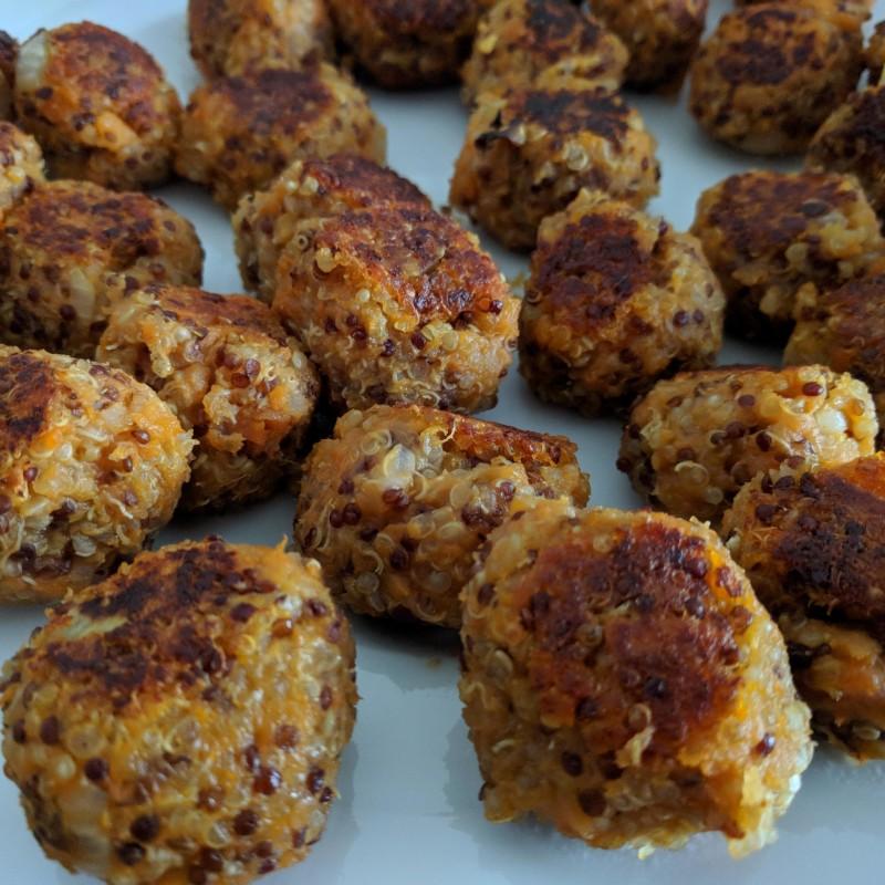 Quinoa-Süßkartoffel-Bällchen