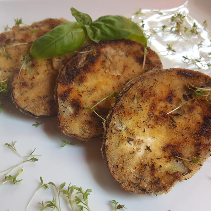 Auberginen - Schnitzel