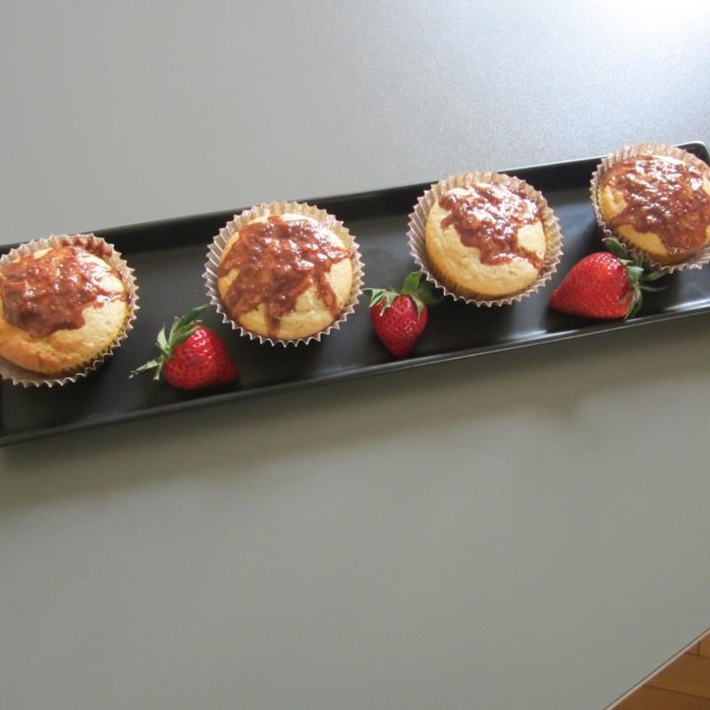 Zitronen-Apfelmus Muffins