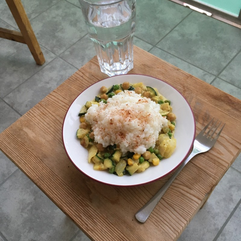 Gemüse Curry