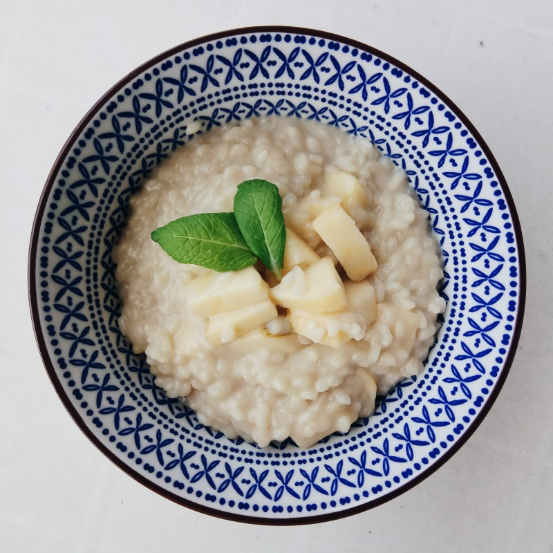 Reis - Kokos - Milchreis mit Apfel