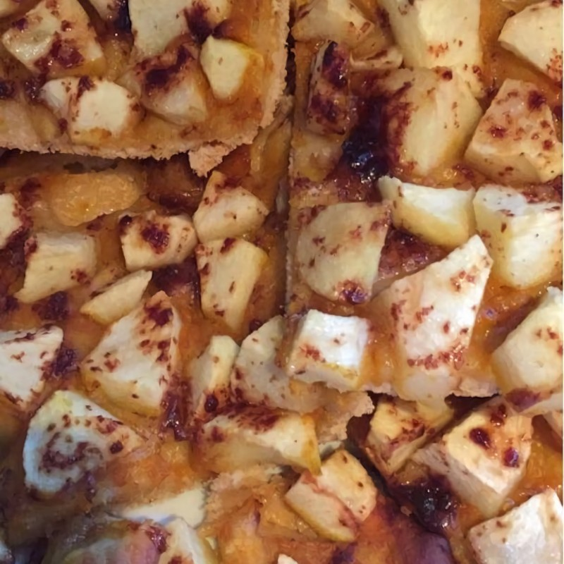 Schlichter Apfelkuchen