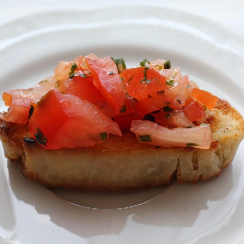 Italienisches Bruschetta