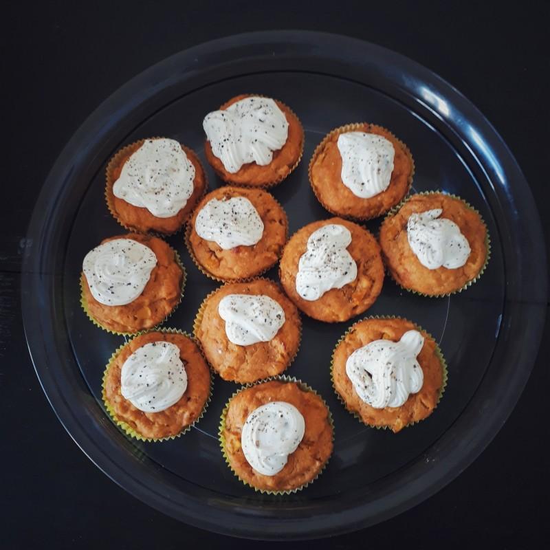 Herzhafte Mais-Cupcakes
