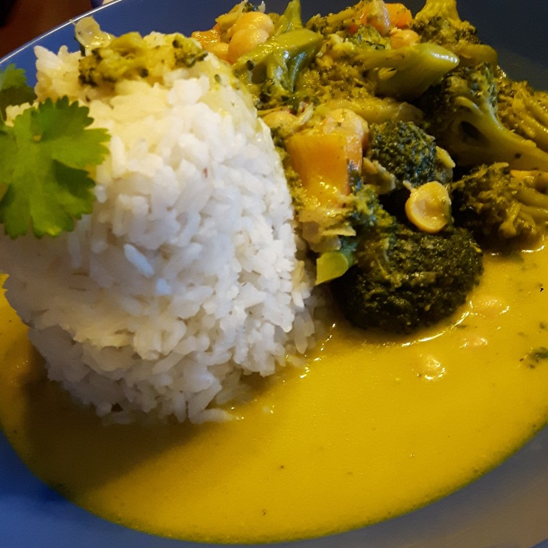 Brokkoli-Curry