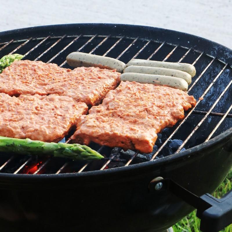 Vegane Steaks vom Grill
