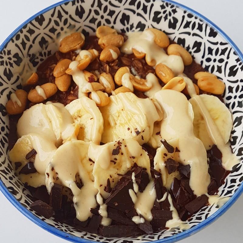 Snickers-Porridge