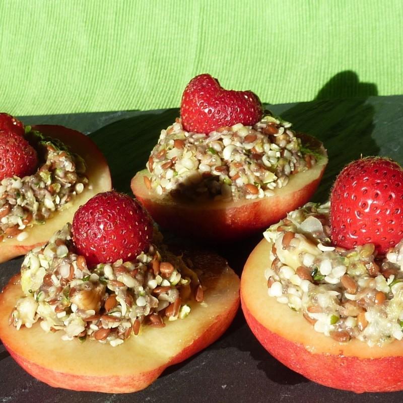 Fruchtiges Omega-3 Törtchen