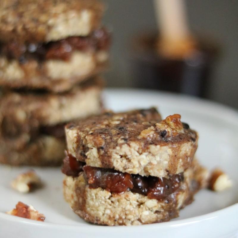 Karamell Schicht-Kekse
