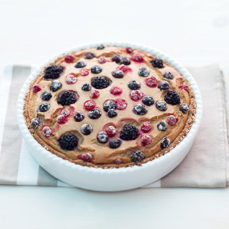 Seidentofu-Kuchen