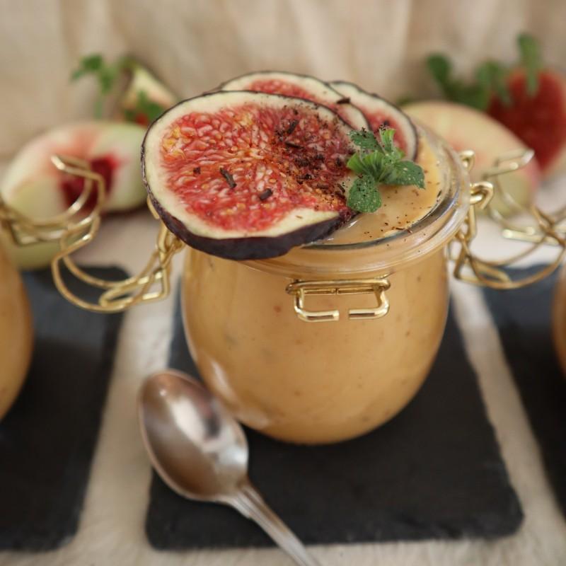 Pfirsich Dessert Creme (Seidentofu)