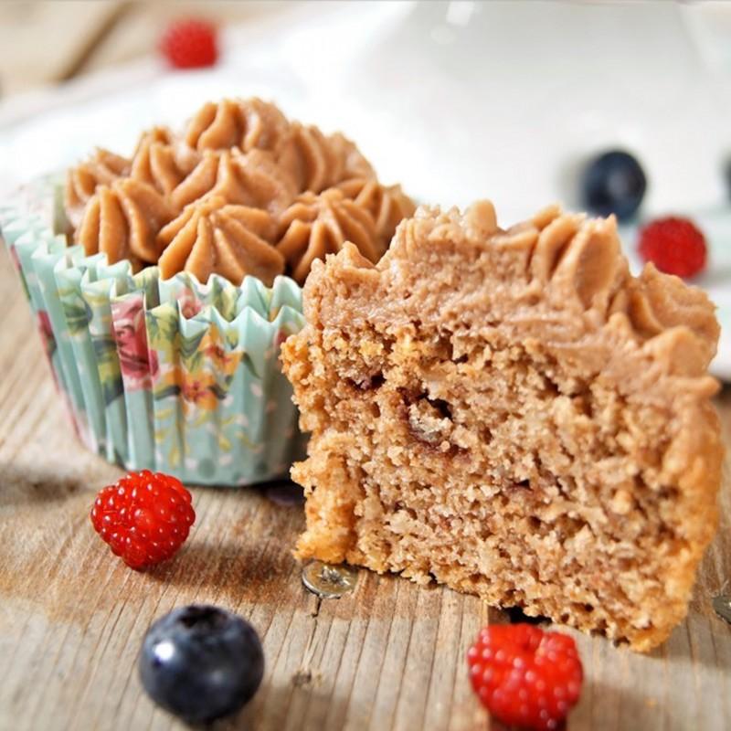 Himbeer Schokomousse Cupcakes