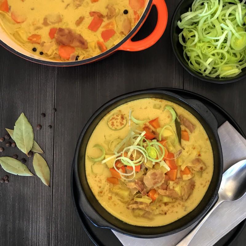 Curry Kürbis-Eintopf