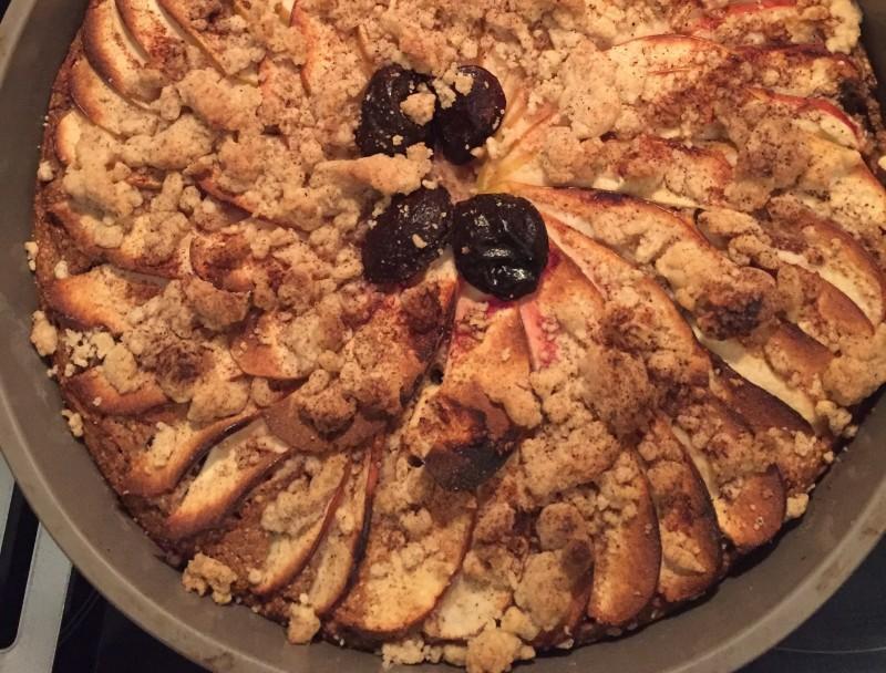 Obstkuchen (Pflaume, Äpfel, ...)